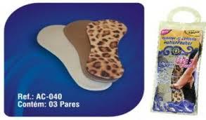 Palmilha FashionPauher 3 Pares Ref. AC 040 ? Ortho Pauher  - Shopping Prosaúde