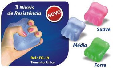 HandGel FisioPauher 3 níveis Ref. FG-19 ? Ortho Pauher  - Shopping Prosaúde