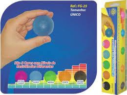 Kit Esferas Multirresistência 5 Níveis Ref. FG-25 ? Ortho Pauher  - Shopping Prosaúde
