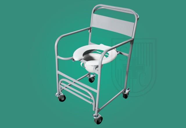 Cadeira Higiênica Toda em Ferro cód. SC 0023 ? Santa Clara