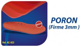 Poron Firme 3mm Ref. AC ? 922 ? Ortho Pauher