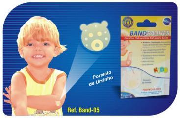 Hidrocolóide Adesivo Para Proteção do Seu Filho Ref. Band 05 ? Ortho Pauher  - Shopping Prosaúde