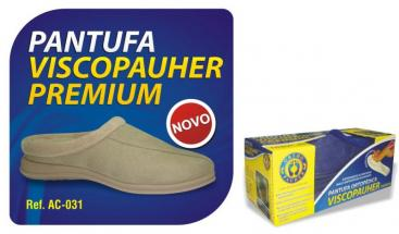 Pantufa Ortopédica ViscoPauher Premium Bege PP Ref. AC031 ? Ortho Pauher  - Shopping Prosaúde