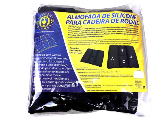 ALMOFADA DE SILICONE PARA CADEIRA DE RODAS  4035 - ORTHO PAUHER