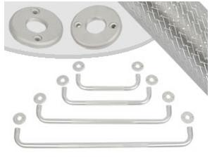 Barras de Apoio Alumínio 40cm B 40 - Sequencial