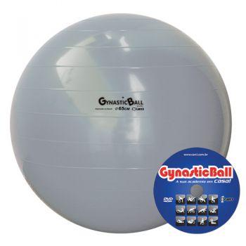 BOLA GYNASTIC BALL 65 CM BL.01.65 PRATA - CARCI  - Shopping Prosaúde