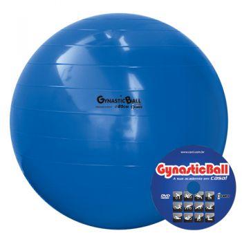 BOLA GYNASTIC BALL 85 CM BL 01.85 AZUL - CARCI