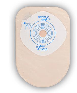 Bolsa de Colostomia Active-Life 1 Peça Fechada Pré-Cortada  45mm Opaca Und. 175772 - Convatec