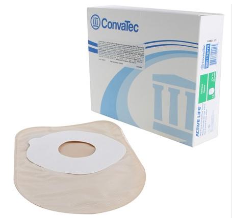 Bolsa de Colostomia Active-Life 1 Peça Fechada Pré-Cortada Stomahesive 32 mm Opaca Und. 175770- Convatec