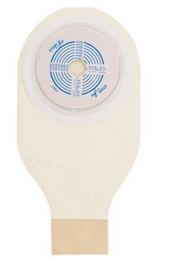 Bolsa para Colostomia Active-Life 1 Peça Drenável  Opaca Stomahesive  64mm Und. 22763 - CONVATEC