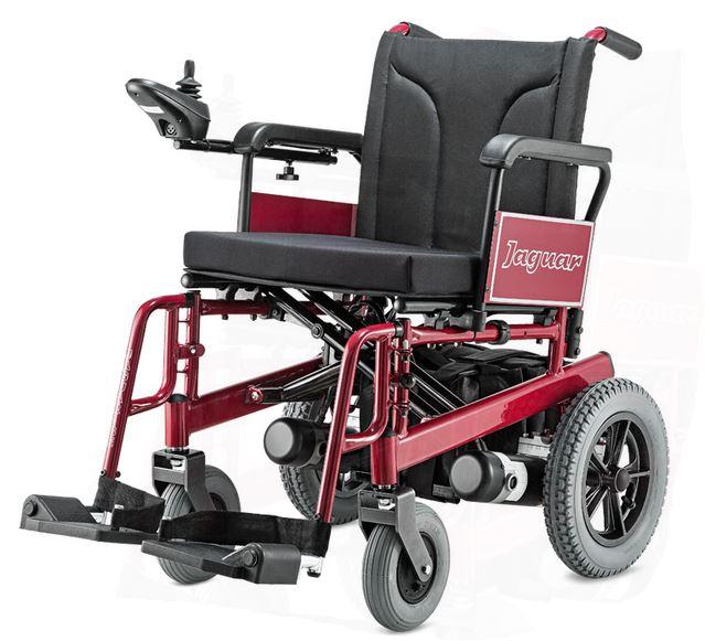 Cadeira de Rodas Aço Motorizada Jaguar -  BAXMANN E JAGUARIBE  - Shopping Prosaúde