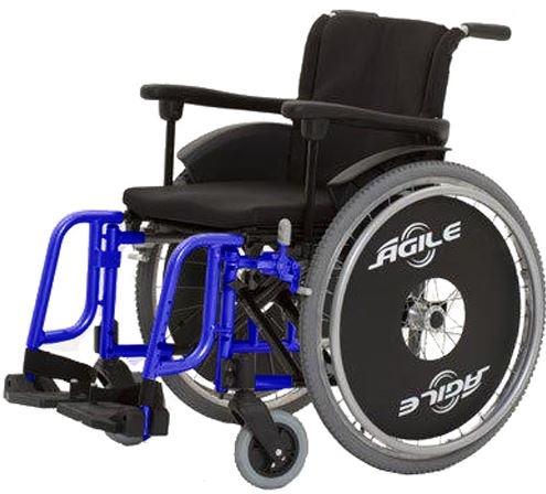 Cadeira de Rodas Alumínio Ágile 2009 - BAXMANN E JAGUARIBE