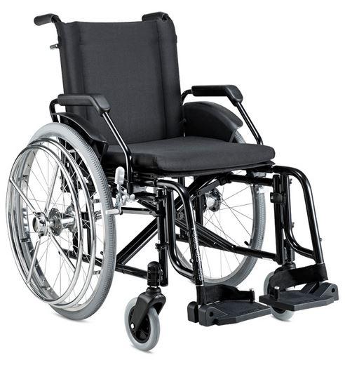 Cadeira de rodas Alumínio Hemiplégico - BAXMANN E JAGUARIBE  - Shopping Prosaúde