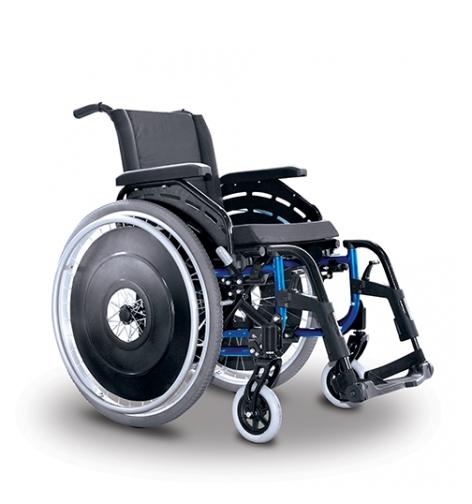 Cadeira de Rodas Alumínio K2 36cm - ORTOBRAS  - Shopping Prosaúde