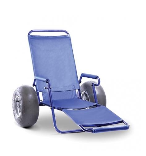 Cadeira de Rodas Alumínio Tropical 44 cm - ORTOBRAS  - Shopping Prosaúde
