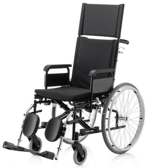 Cadeira de Rodas KR Plus 44 cm - BAXMANN E JAGUARIBE  - Shopping Prosaúde