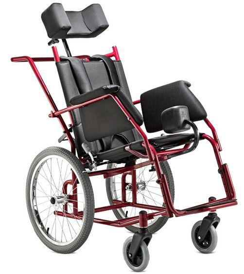 Cadeira de rodas Star Adulto 44cm - BAXMANN E JAGUARIBE  - Shopping Prosaúde