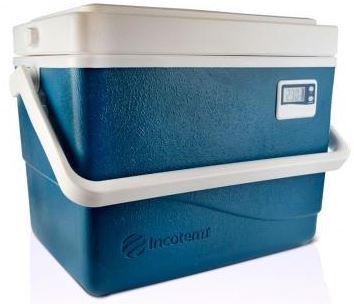 Caixa Térmica com Termômetro 15 Litros CT015 - INCOTERM  - Shopping Prosaúde