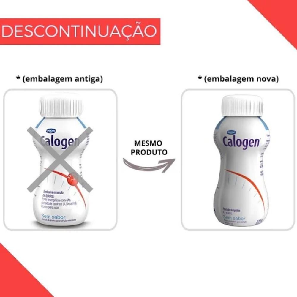 CALOGEN SEM SABOR 200 ML - DANONE
