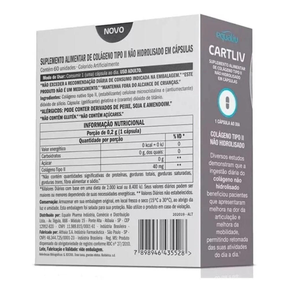 CARTLIV C/60 CAPSULAS - EQUALIV