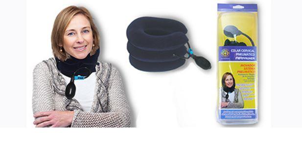 Colar Cervical Pneumático Ref. AC 082 ? Ortho Pauher  - Shopping Prosaúde
