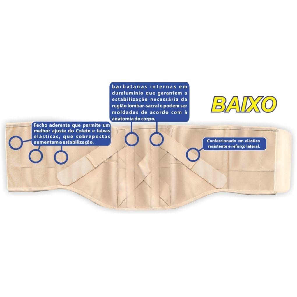 COLETE PUTTI ELÁSTICO ALTO REF. AC608 - ORTHO PAUHER