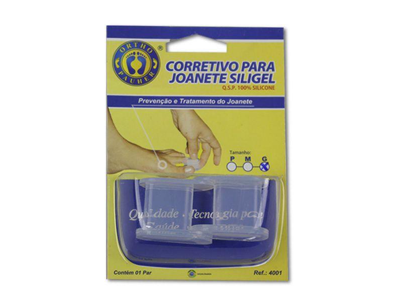 CORRETIVO PARA JOANETE SILIGEL P 4001 - ORTHO PAUHER  - Shopping Prosaúde
