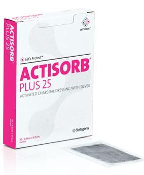 Curativo Actisorb Plus 25 (Und.)  - Johnson e Johnson Curativos  - Shopping Prosaúde