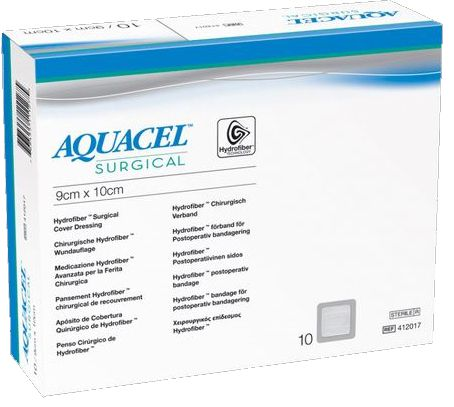 Curativo Aquacel Surgical  09 x 25 Und. 412019 - Convatec