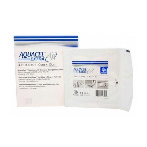 Curativo Aquacel Ag Prata Extra 10x10 cm - Cx c/ 10 und