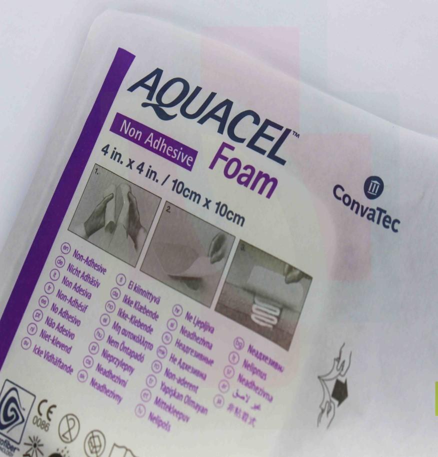 CURATIVO AQUACEL FOAM 10 X 10 CM SEM ADESIVO 420633 - CONVATEC