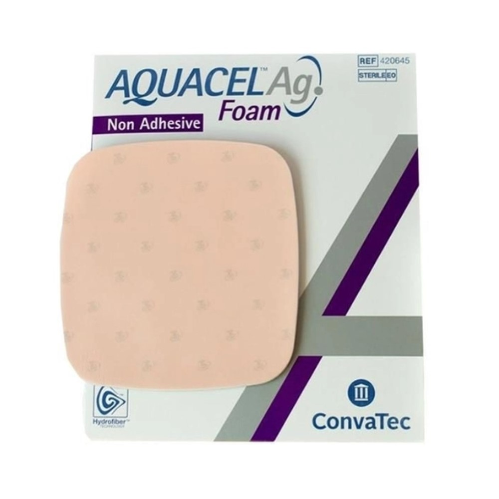 CURATIVO AQUACEL FOAM 21 X 21 CM C/ ADESIVO 420623 - CONVATEC