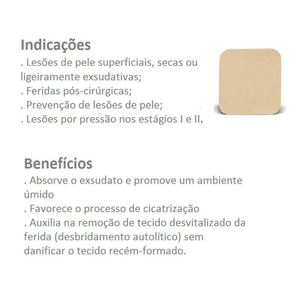 CURATIVO DUODERM EXTRA FINO 10 X 10 CM (CX C/10) - CONVATEC