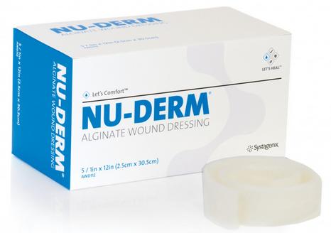 Curativo Nu-Derm Alginato de Cálcio   - Johnson e Johnson Curativos