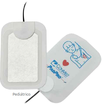 Eletrodo Multifunção PadPro Pediátrico Conector Philips Conmed - Macrosul