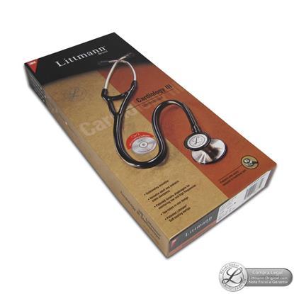 Estetoscópio Littmann Cardiology III Vinho (Burgundy) 3129 - 3M  - SP