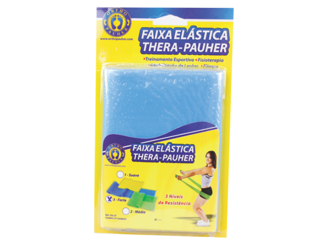 FAIXA THERA-PAUHER 1,2MTS AMAR (SUAVE) FG-27  - Shopping Prosaúde