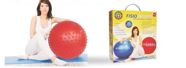 Fisioball - com Pinos para Massagem 65cm Ref. FG-21 ? Ortho Pauher