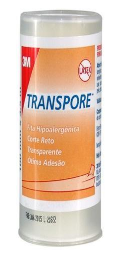 FITA TRANSPORE 100 MM X 4,5 M 1527 (UND.) - 3M  - Shopping Prosaúde