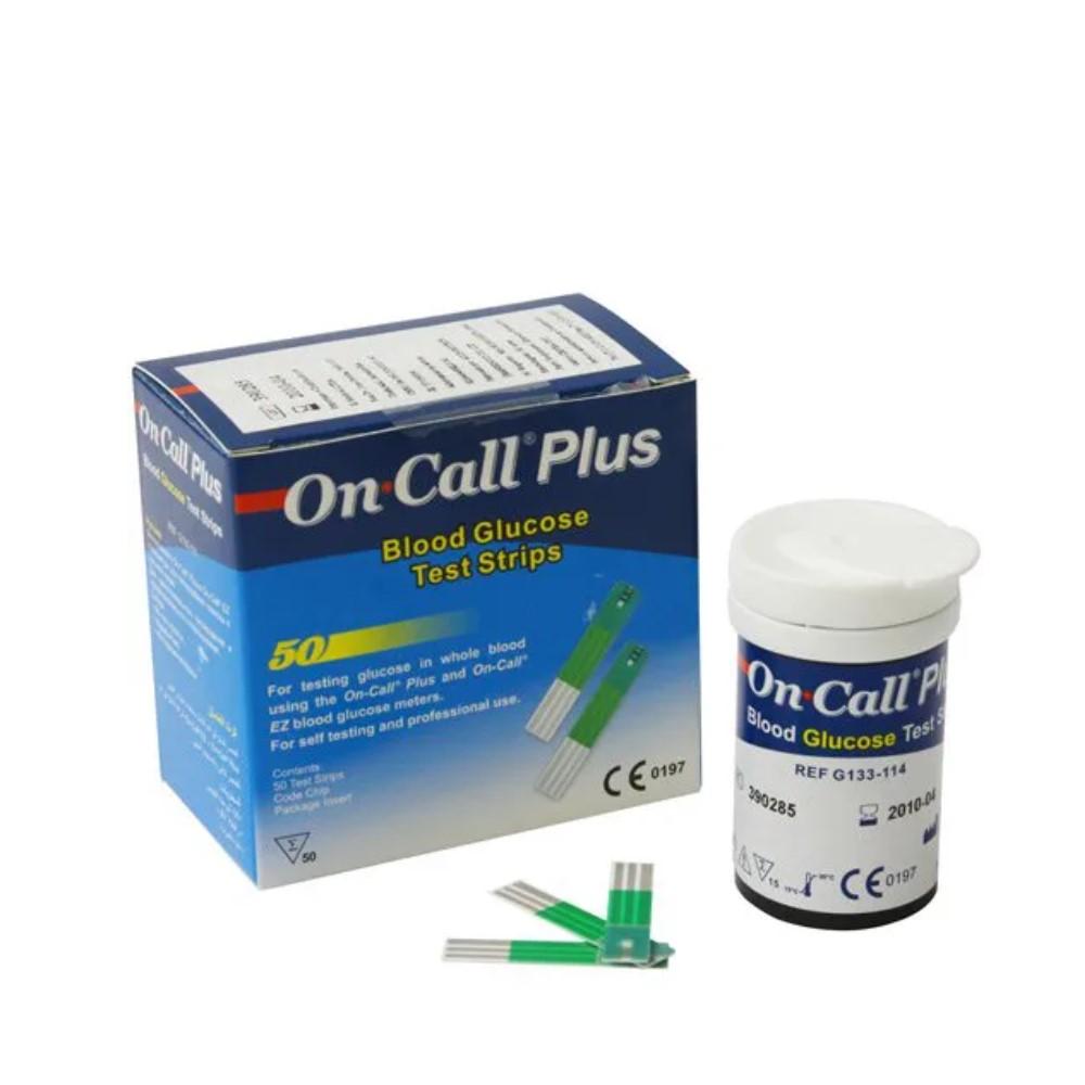 FITAS DE GLICEMIA ON CALL PLUS ONCALL (C/50) - ONCALL