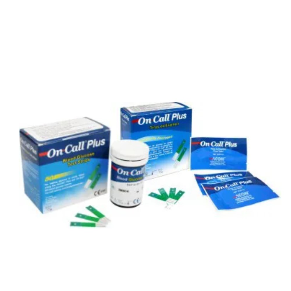 FITAS DE GLICEMIA  ON CALL PLUS ONCALL (CX C/100) - ONCALL