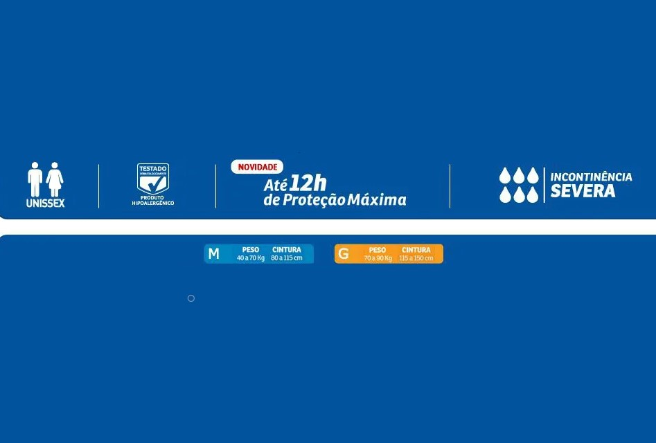 FRALDA GERIÁTRICA BIGFRAL NOTURNA TAM.G (PCT C/07) - BIGFRAL