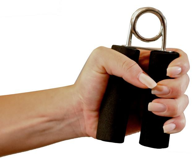 HAND GRIP EM AÇO E ESPUMA (PAR) T1 -  ACTE SPORTS
