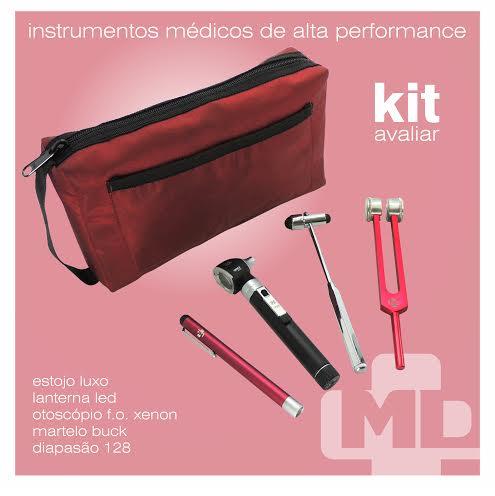 Kit Avaliar Vermelho - MD