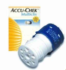 LANCETAS GLICEMIA ACCU-CHEK MULTICLIX C/06 LANCETAS - ROCHE