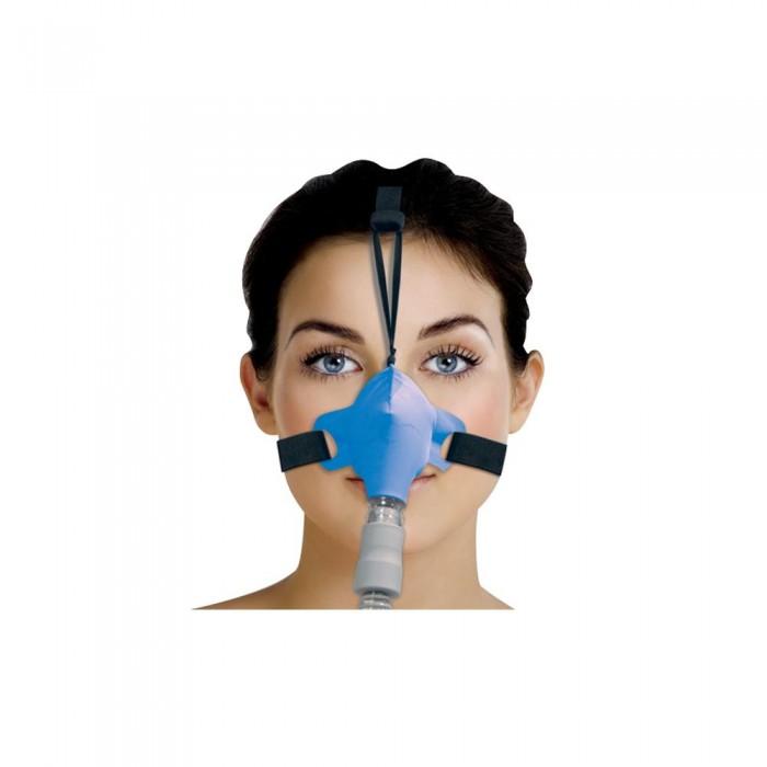 Máscara para Cpap Bipap Nasal SleepWeaver Azul Tam. Único -  Resmed