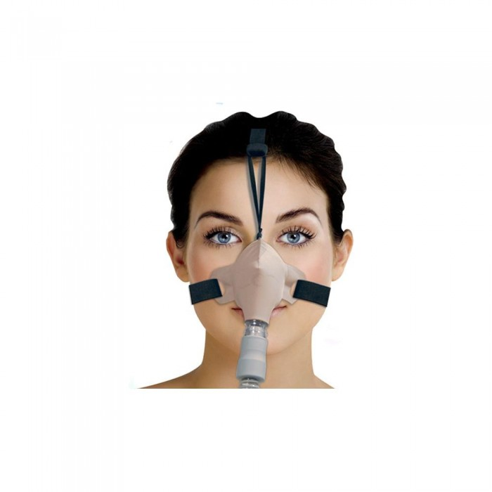 Máscara para Cpap Bipap Nasal SleepWeaver Bege Tam. Único - Resmed