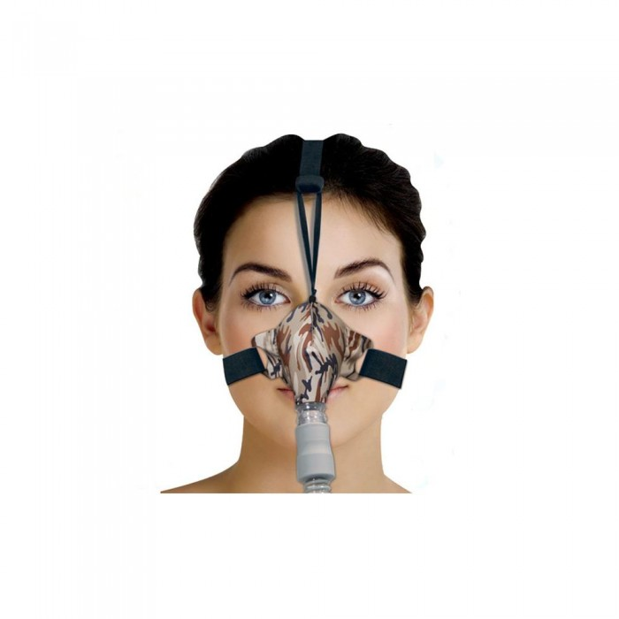 Máscara para Cpap Bipap Nasal SleepWeaver Camuflada Tam. Único - Resmed