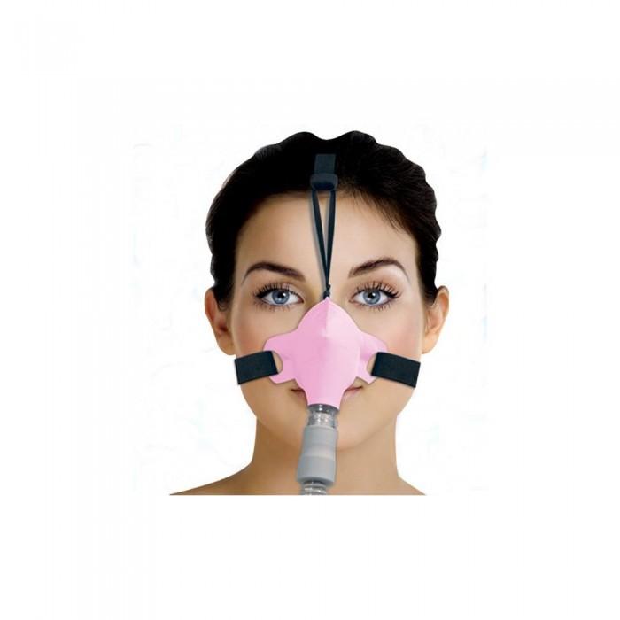 Máscara para Cpap Bipap Nasal SleepWeaver Rosa Tam. Único - Resmed
