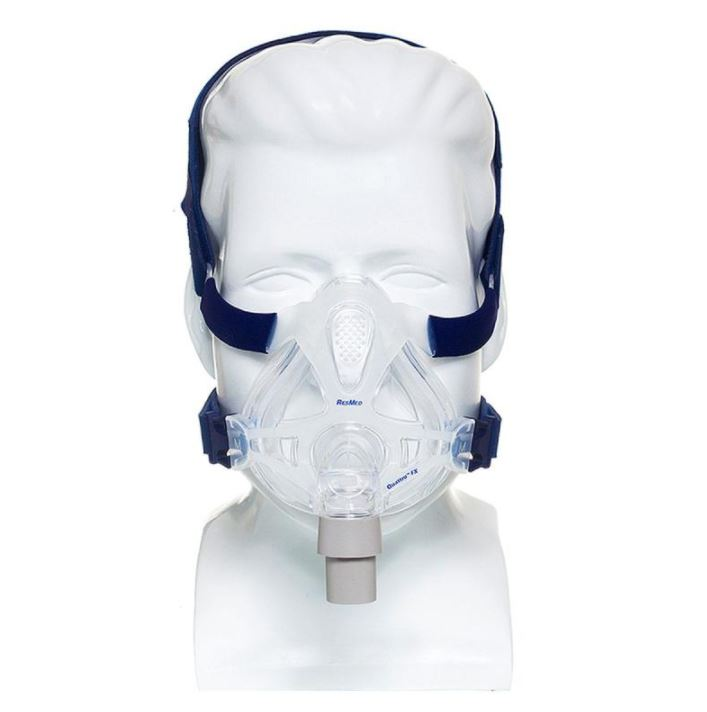 MÁSCARA PARA BIPAP CPAP FACIAL QUATTRO FX GRANDE 60702 - RESMED